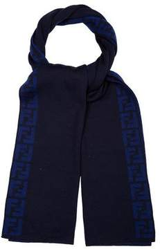 Fendi Wool Zucca Scarf w/ Tags