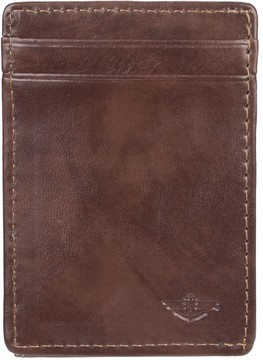 Dockers Men's RFID-Blocking Front Pocket Leather Wallet With Magnetic Money Clip