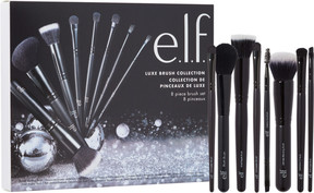 e.l.f. Cosmetics Luxe Brush Collection 8 Piece