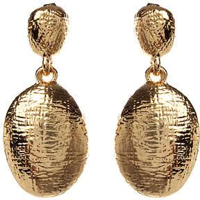 Amrita Singh Goldtone Oval Lisa Drop Earrings