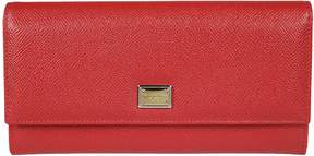 Dolce & Gabbana Genuine Continental Wallet - ROSSO - STYLE