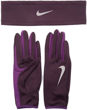 Nike Women's DriFit Running Headband and Glove Set - 8157696