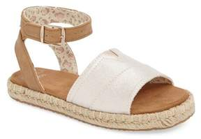 Toms Malea Sandal (Baby, Toddler, & Little Kid)