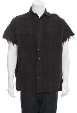 R 13 Oversize Plaid Shirt