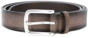 Orciani lizard skin effect belt