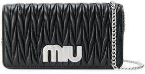 Miu Miu Délice Miu logo bag