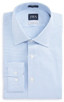 John W. Nordstrom Men's Trim Fit Check Dress Shirt