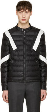 Neil Barrett Black and White Apres Ski Jacket