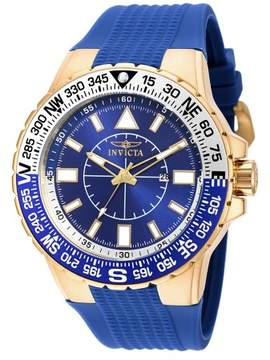 Invicta Aviator 19270SYB Blue Dial Watch