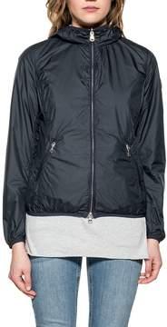 Colmar Blue/light Gray Hooded Reverse Jacket