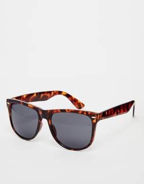 A. J. Morgan AJ Morgan Big W Square Sunglasses In Tortoishell