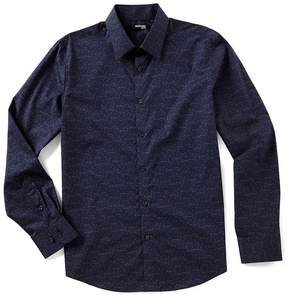 Murano Slim-Fit Floral Print Shirt
