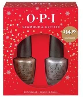 OPI Holiday Glamour & Glitter Blockbuster Duo.