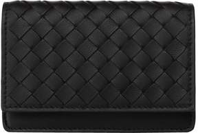 Bottega Veneta Nappa Leather Flap Card Holder