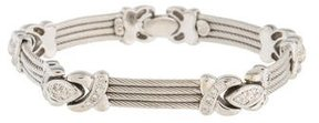 Charriol 18K Diamond Link Bracelet