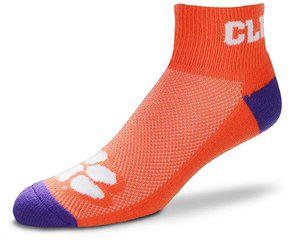 For Bare Feet Clemson Tigers The Cuff Ankle Socks