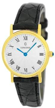 Concord Bennington 18K Yellow Gold Womens Watch