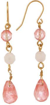 Carolee Triple Bead Drop Earrings