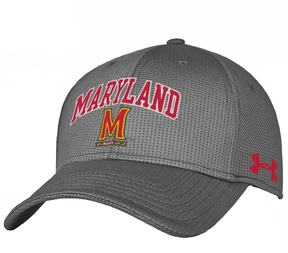 Under Armour Adult Maryland Terrapins Stretch-Fit Cap