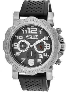 Equipe Tritium Rivet Chronograph Grey Dial Men's Watch