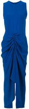 Joseph ruched evening dress