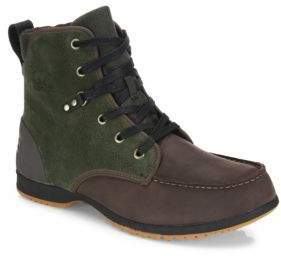 Sorel Ankeny Suede & Leather Ankle Boots