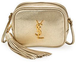 Saint Laurent Monogram Blogger Crossbody Bag - GOLD - STYLE