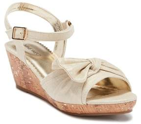 Nine West Nathaliah Wedge Sandal (Little Kid & Big Kid)