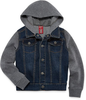 Arizona Denim Hoodie-Preschool Boys