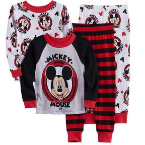 Disney Disney's Mickey Mouse Toddler Boy 4-pc. Pajama Set