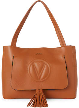 Mario Valentino Valentino By Whiskey Ollie Tassel Leather Tote
