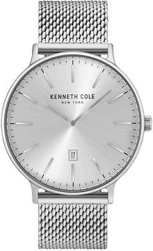 Kenneth Cole New York Kenneth Cole Men's Stainless Steel Mesh Bracelet Watch 42mm KC15057009
