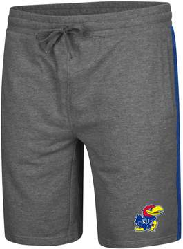 Colosseum Men's Kansas Jayhawks Sledge II Terry Shorts
