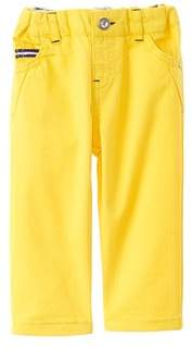 Chicco Boys' Yellow Herringbone Long Trouser.