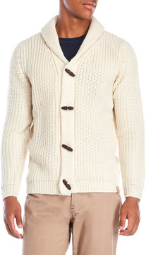 Weatherproof Cable Knit Toggle Cardigan