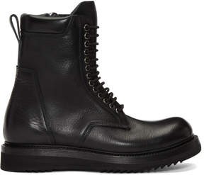 Rick Owens Black Low Army Classic Creeper Boots