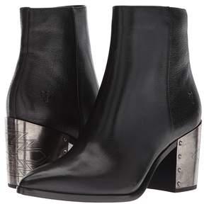 Frye Flynn Omaha Short Inside Zip Women's Dress Zip Boots