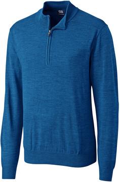 Cutter & Buck Blue Douglas Half-Zip Pullover - Men