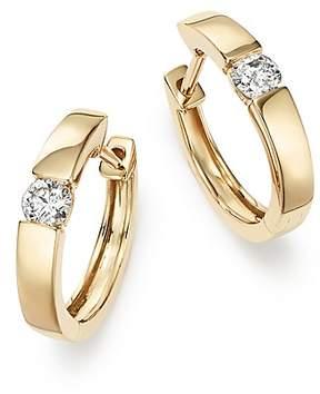 Bloomingdale's Diamond Small Hoop Earrings in 14K Yellow Gold, 0.25 ct. t.w. - 100% Exclusive