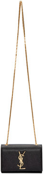 Saint Laurent Black Small Monogram Kate Chain Bag