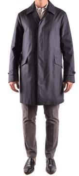 Allegri Men's Blue Polyester Coat.