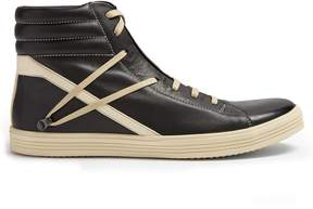 Rick Owens Geo Thrasher high-top leather trainers