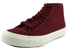 Vans Court Mid Round Toe Canvas Skate Shoe.
