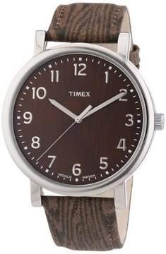 Timex Men's Silver Analog Watch T2P221