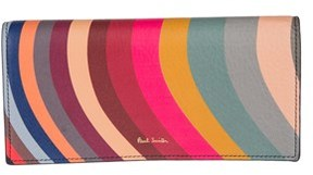 Paul Smith Women's Multicolor Leather Wallet.