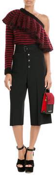 Roland Mouret Leather and Suede Shoulder Bag