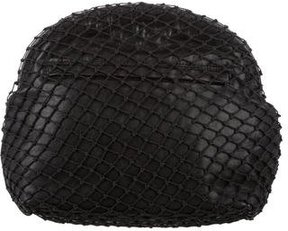 Maison Margiela Netted Leather Clutch