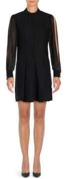 Cynthia Steffe Arden Long Sleeve A-Line Dress
