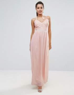 Club L Corset Lace Detail Maxi Dress