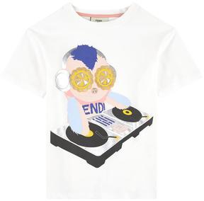 Fendi Exclusive print T-shirt